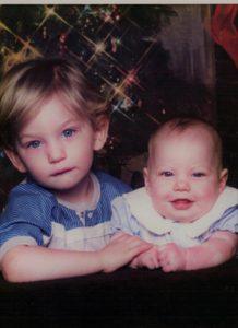 Paul and Carina as Babies