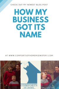 How My Business Got Its Name
