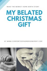 My Belated Christmas Gift
